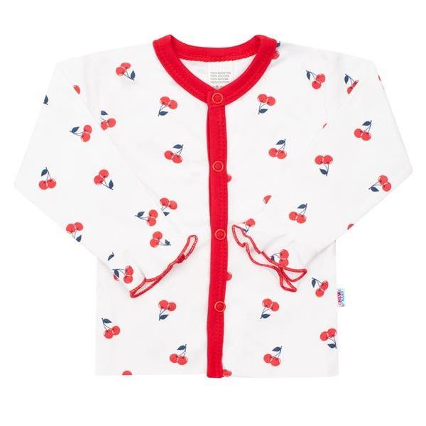 Dojčenský bavlnený kabátik New Baby Cherry