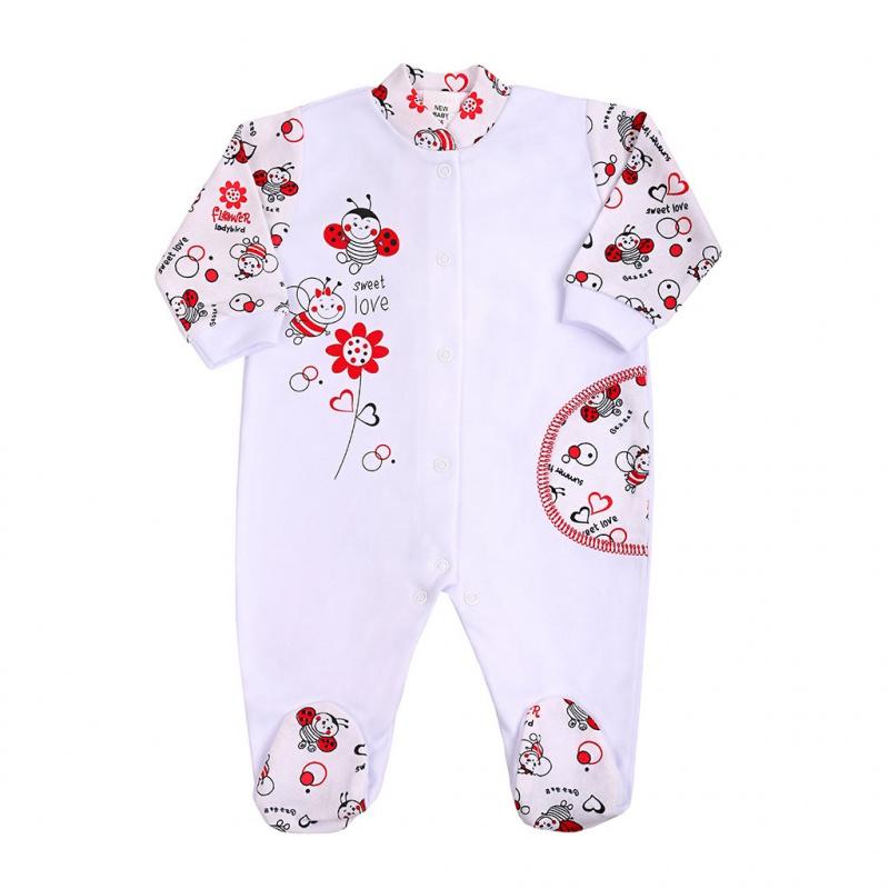 Dojčenský overal New Baby Beruška