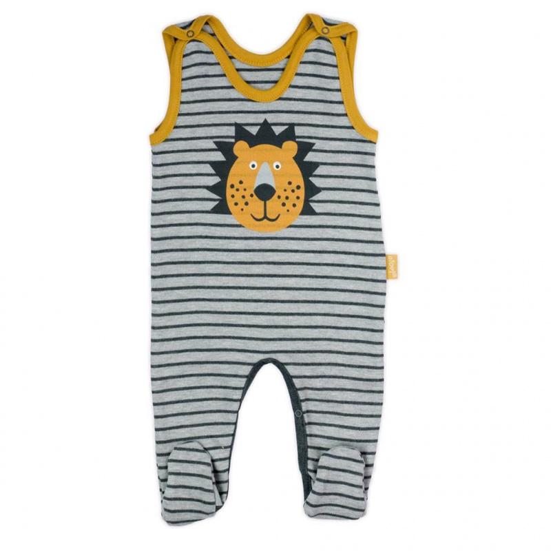 Dojčenské bavlnené dupačky Nicol Prince Lion