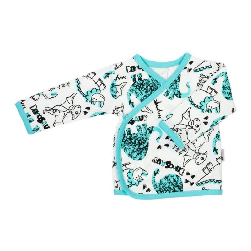 Kojenecká bavlněná košilka Nicol Dinosaur