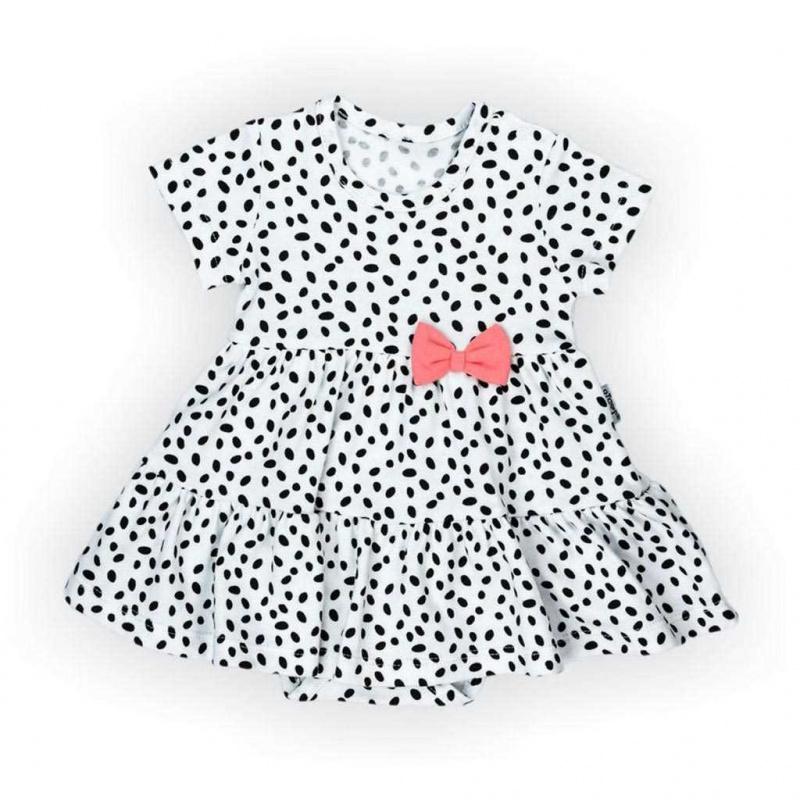 Dojčenské šatôčky-body s krátkym rukávom Nicol Alice