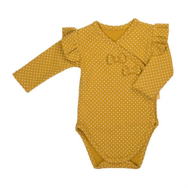 Dojčenské bavlnené body s bočným zapínaním Nicol Michelle