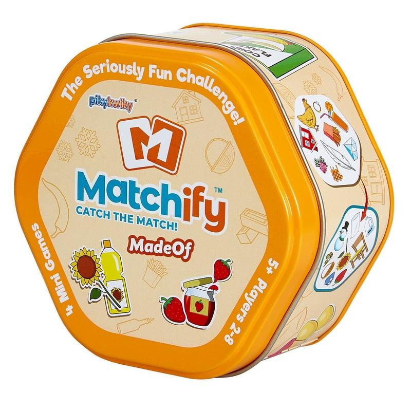 Hra Matchify Z ČEHO JSEM