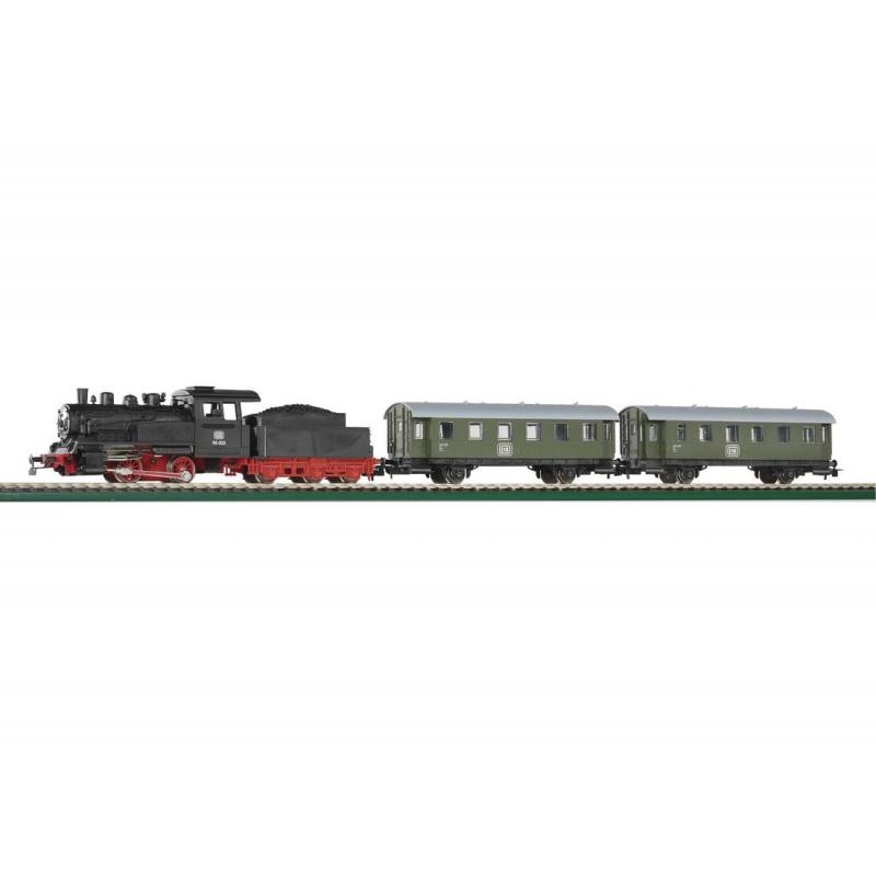Piko Startovací sada Osobní vlak s parní lokomotivou - 57110