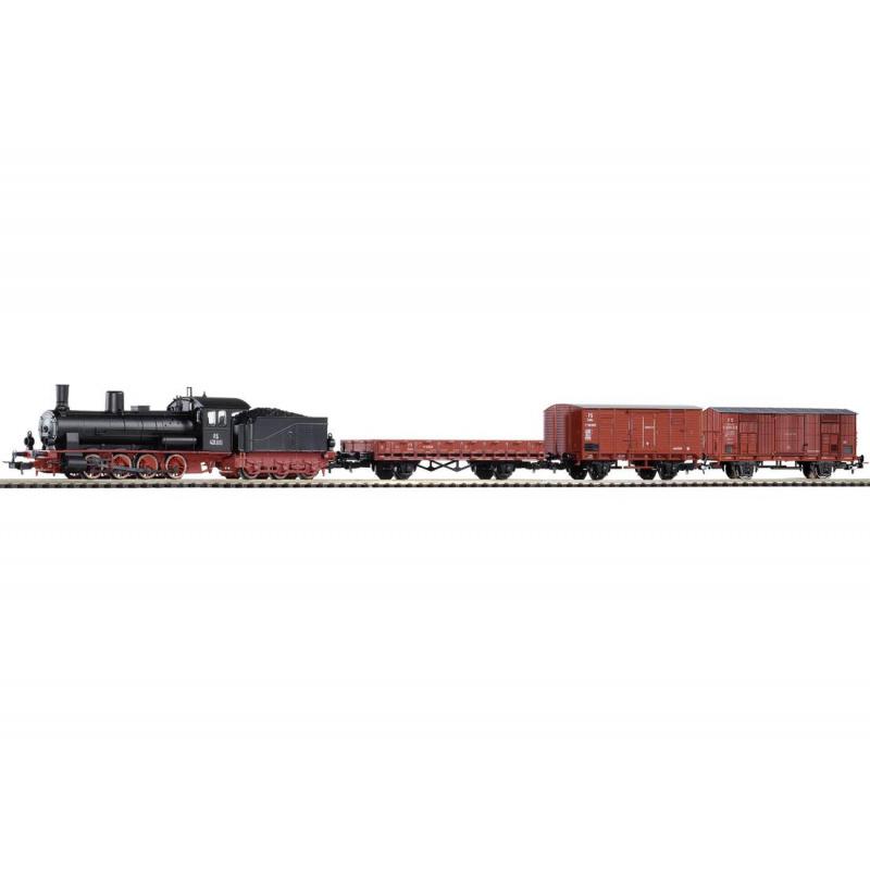 Piko Základní sada Nákladní vlak s parní lokomotivou FS - 97922