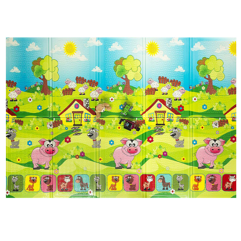 Casmatino detská skladacia podložka PIGGY - 2000 x 1400 x 10