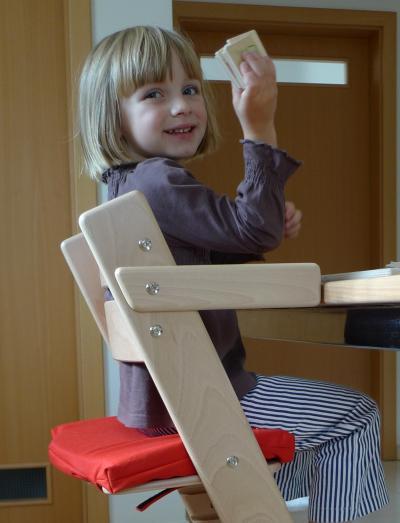 Područky + stabilizační botičky k dětské rostoucí židli JITRO