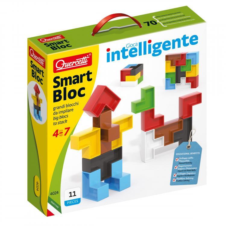 Quercetti Smart Bloc – stavebnice z velkých bloků