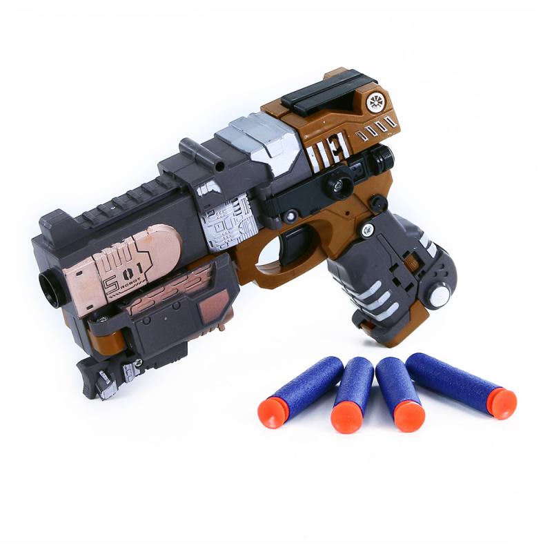 Robot / pistole rozložitelná na šipky