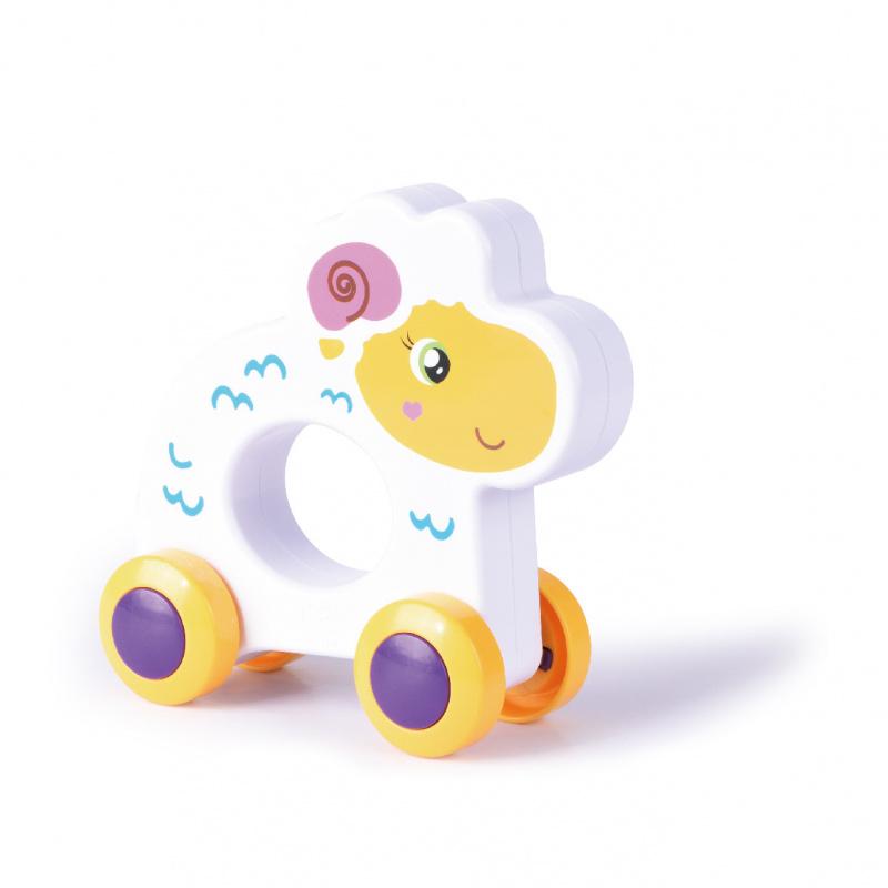 Hračka pro nejmenší na kolečkách ovce