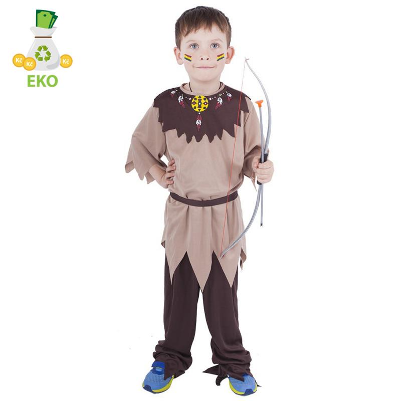 Kostium indiański dla dzieci z paskiem (M) EKO