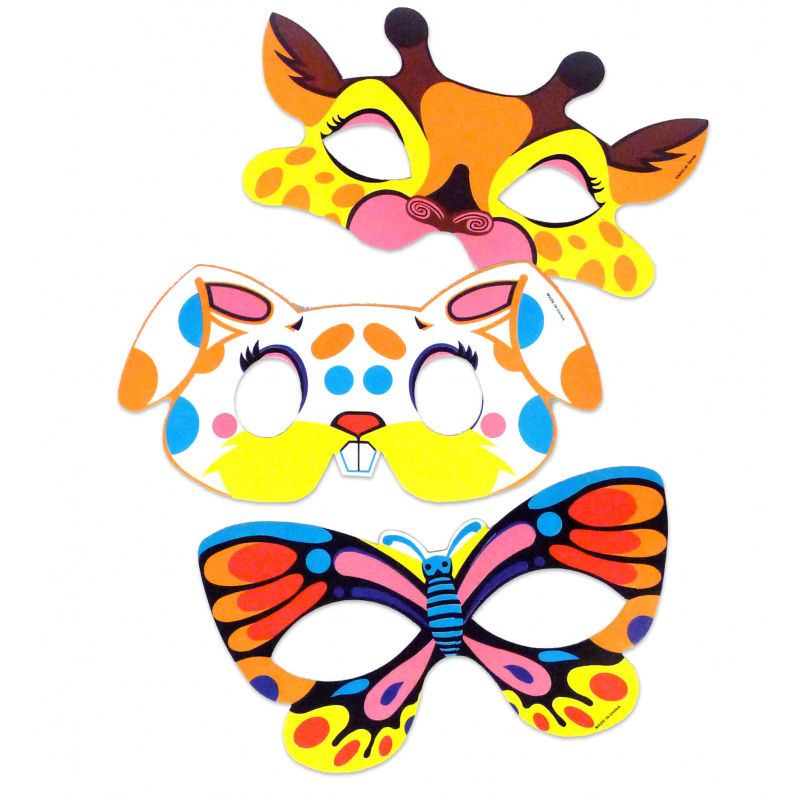 Maska papierowa dla zwierząt w woreczku 6 szt