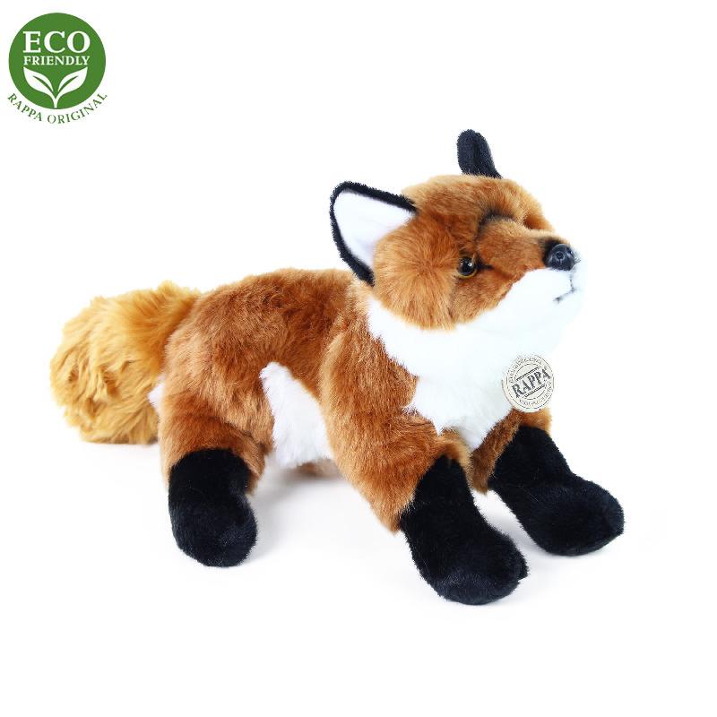 Plyšová liška stojící 30 cm