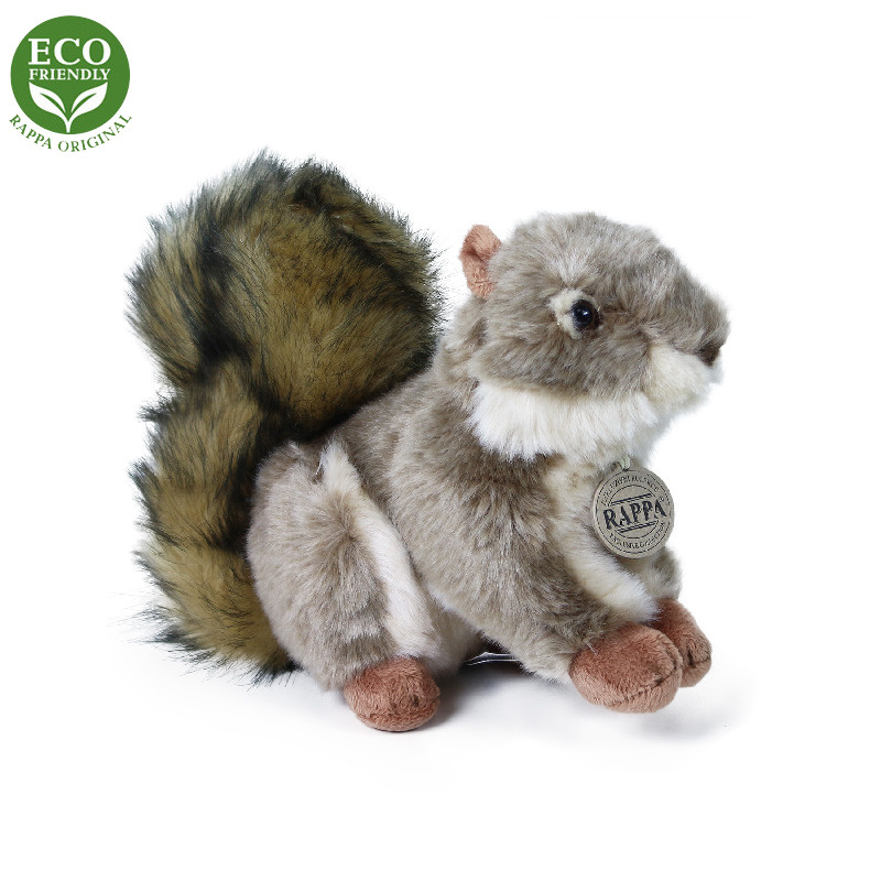 Pluszowa wiewiórka siedząca 24 cm