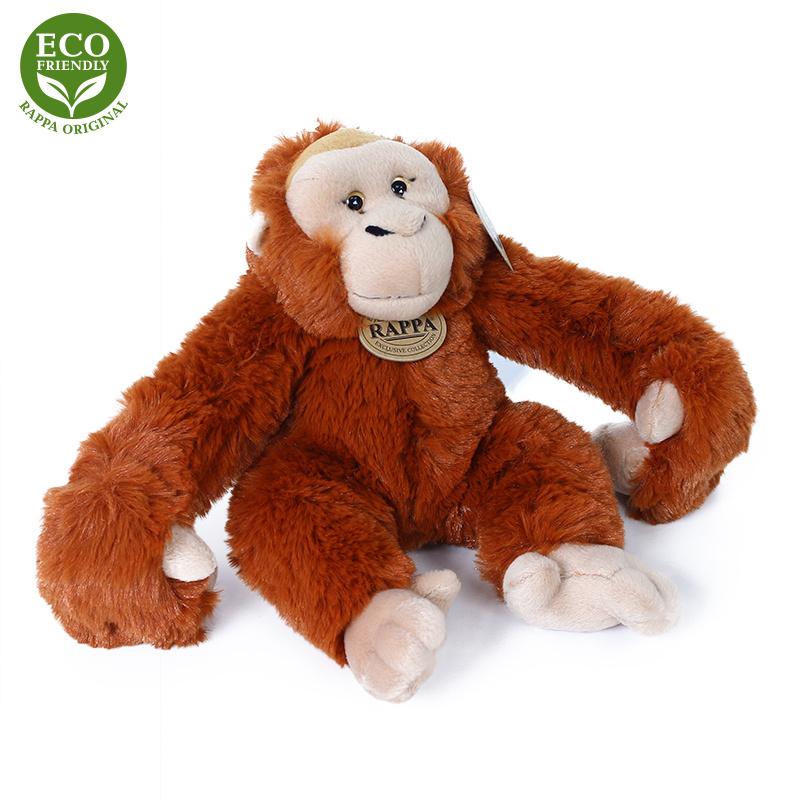 Pluszowy orangutan wiszący 20 cm EKOLOGICZNY