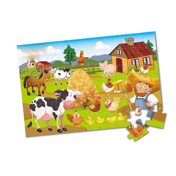 Puzzle farma maxi 48 ks 90 x 60 cm