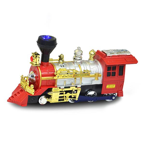 Lokomotiva narážecí s kouřícím efektem