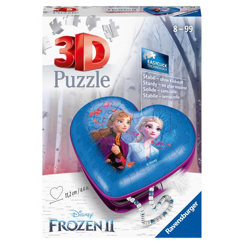Disney Heart Ice Kingdom 2 54 elementów