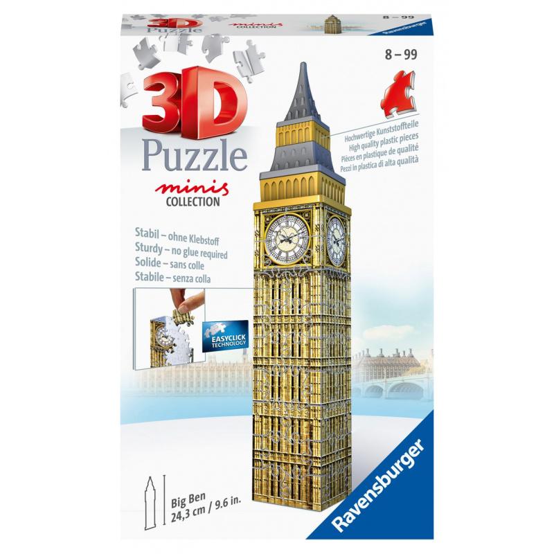 Mini budova - Big Ben 54 dielikov