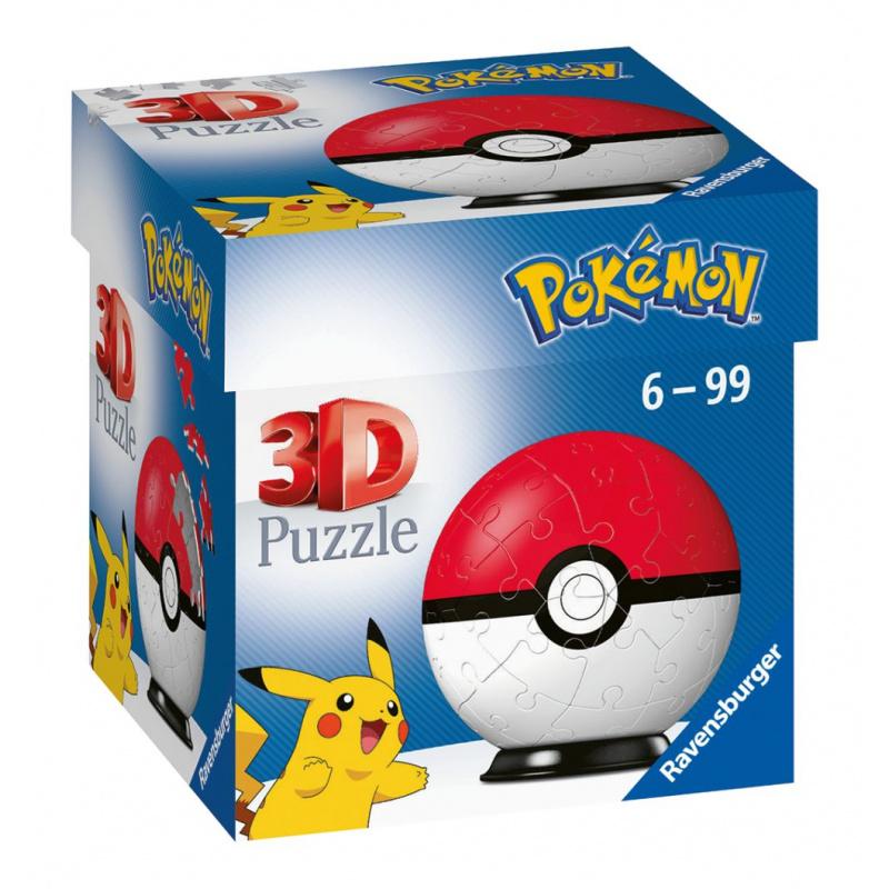 Puzzle-Ball Pokémon Motív 1 - položka 54 dielikov