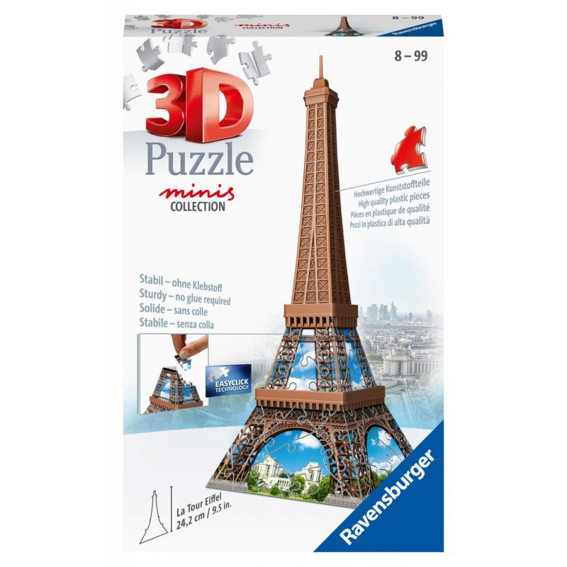 Mini budova - Eiffelova veža 54 dielikov