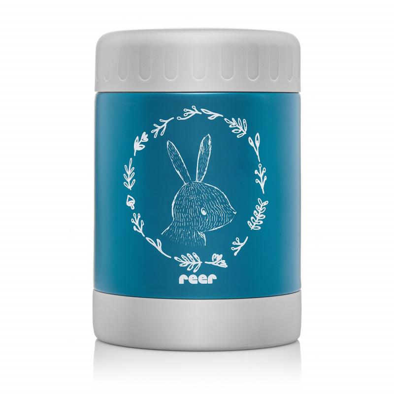 Reer Termoska 350 ml široká modrá ColourDesign