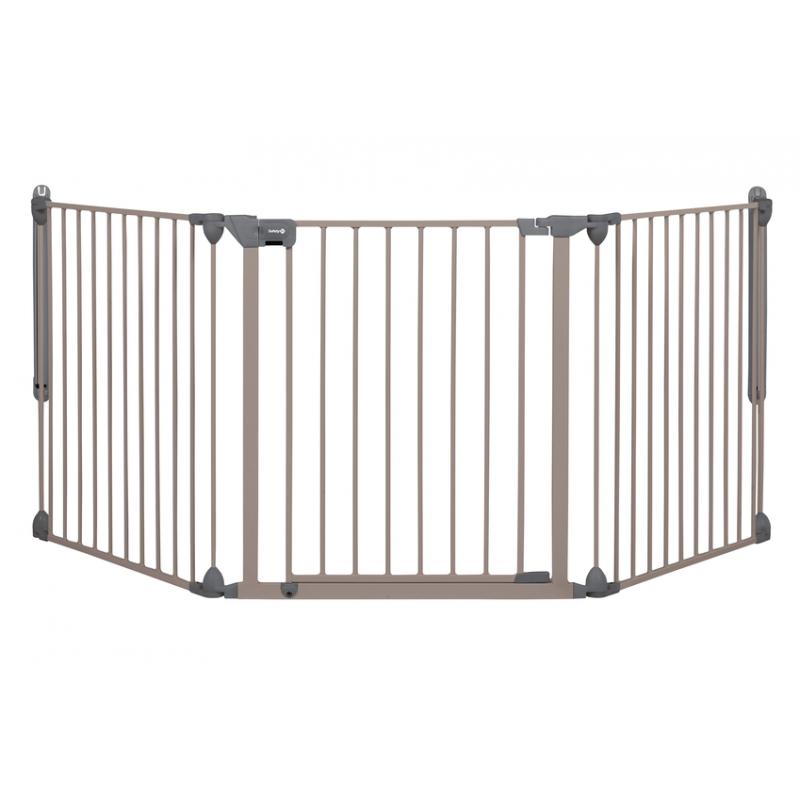 Safety 1st Bramka zabezpieczająca Modular Gate, light grey