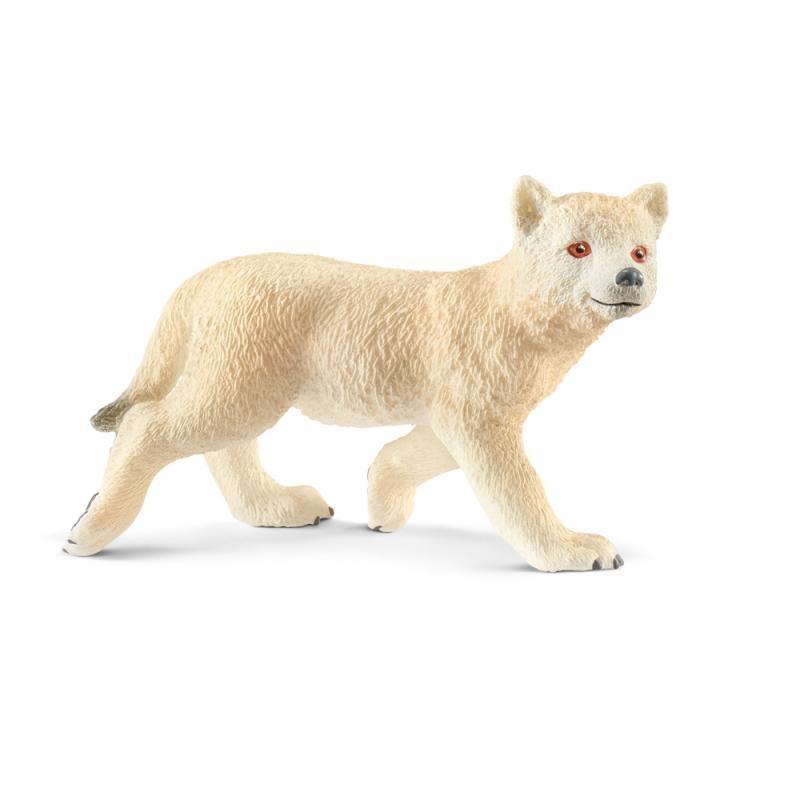 Zvieratko - arktické vlčie mláďa