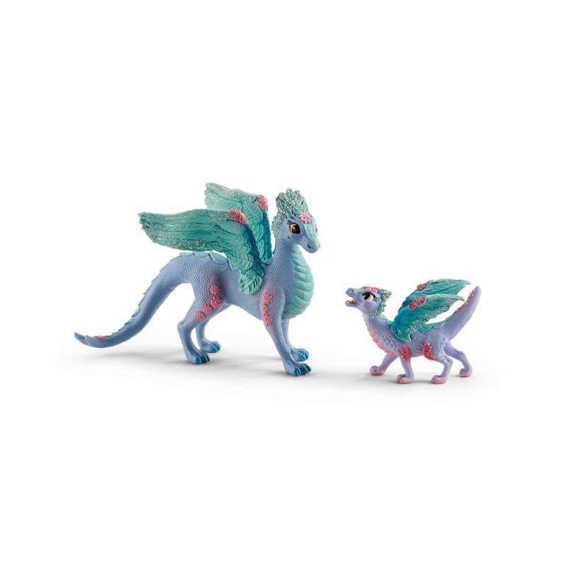 Květinový drak s mládětem