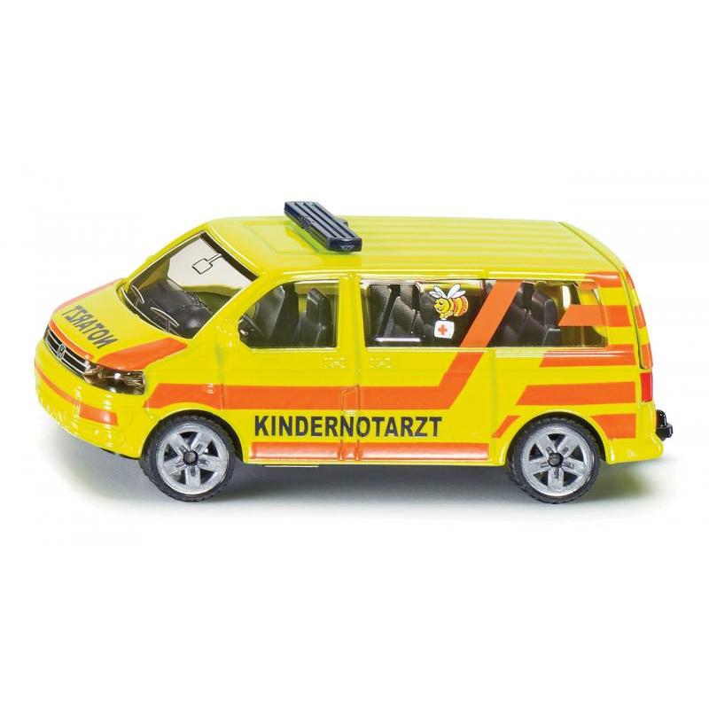 SIKU Blister - VW Transporter, dětská ambulance
