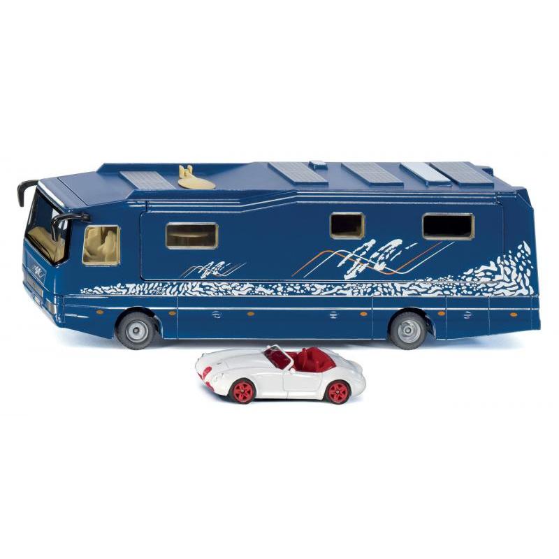SIKU Super - Obytný karavan s autem 1:50