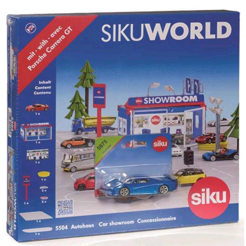 Siku World - autosalón + darček 0875