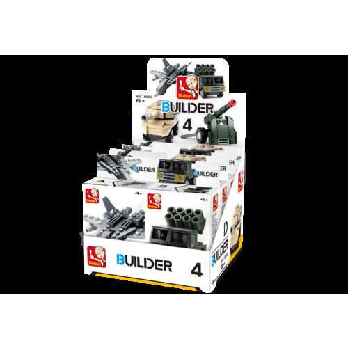 Sluban Builder M38-B05396 4 Army 1ks