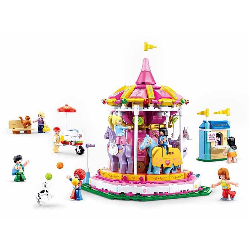 Sluban Girls Dream M38-B0725 Hobby Carousel