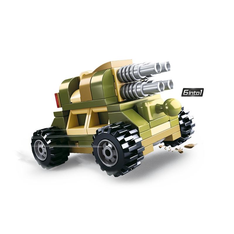 Sluban Builder M38-B0636 King of Land Force 1ks  číslo 5