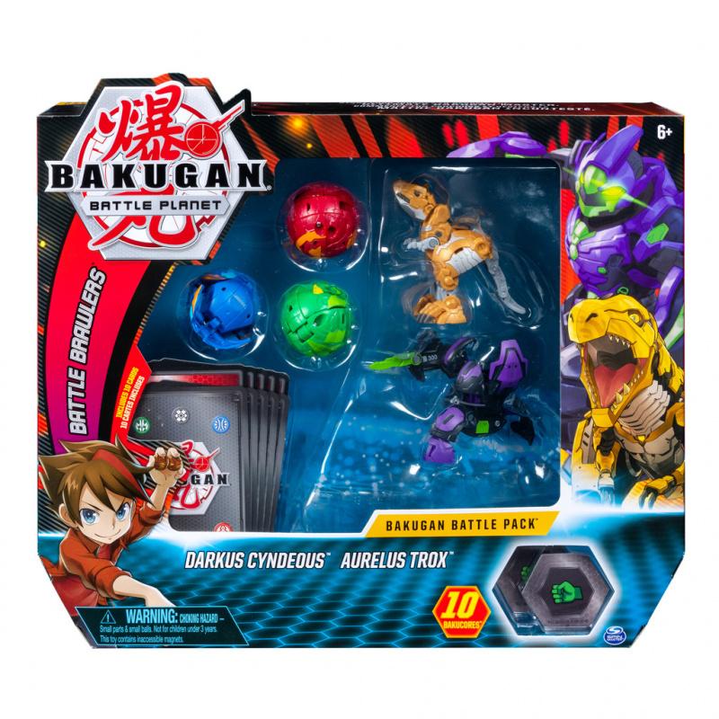 Bakugan balení 5 ks s doplňky