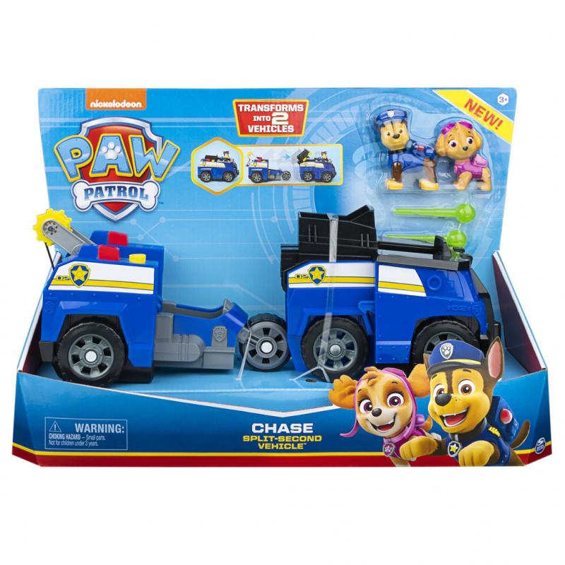 Tlapková patrola dve záchanná vozidlá v jednom