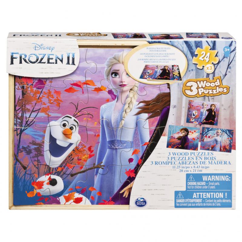 Ledové království 2 dřevěné puzzle