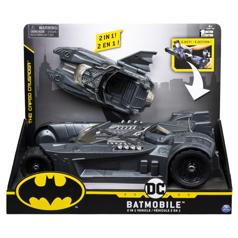 Batman batmobil a batloď pro fig 10 cm