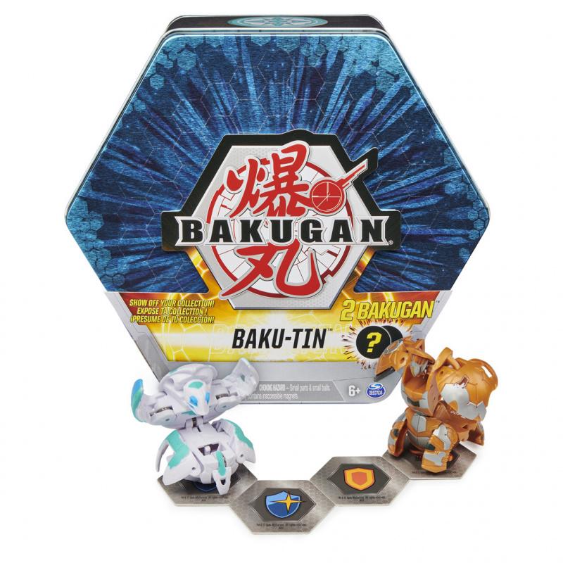 Bakugan plechový box s exkluzivním Bakuganem s3