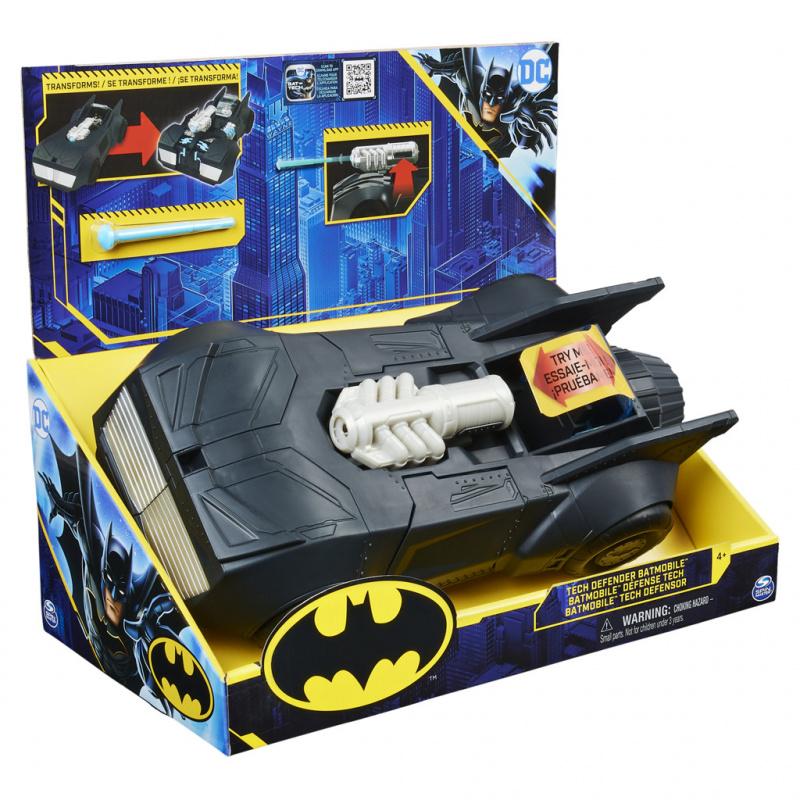 Batman transformující se Batmobile pro figurky 10 cm