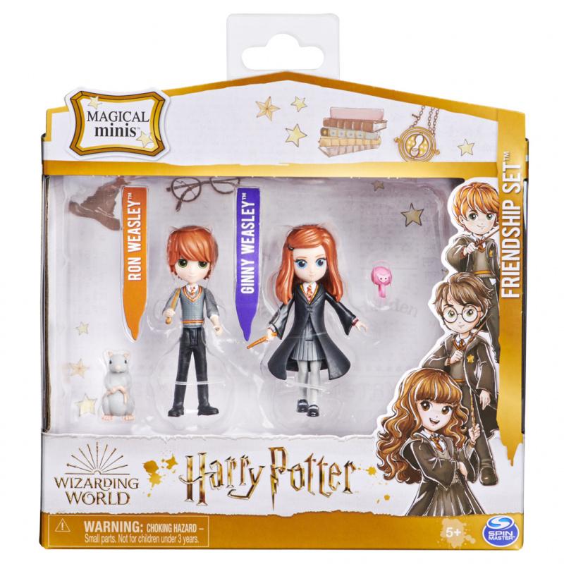 Harry Potter trojbalení priateľov Ron, Ginny, Arnold a Prašivec