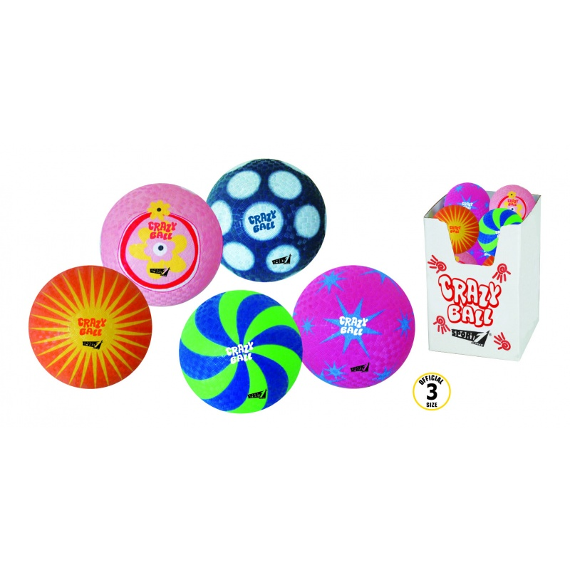 Crazy Ball (vel.3 - pět variant)