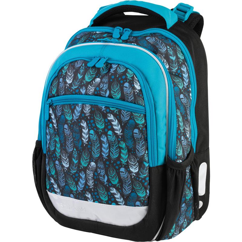 Školní batoh Indian blue