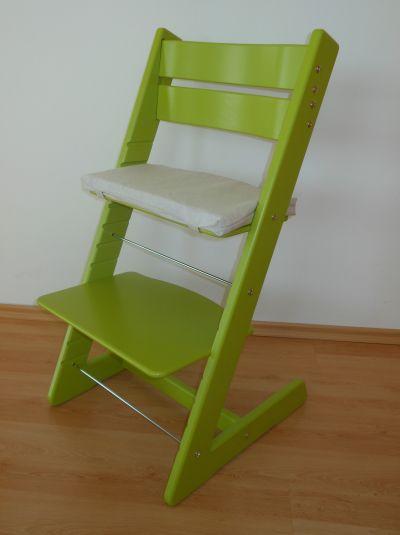 Dětská rostoucí židle JITRO KLASIK sv. zelená
