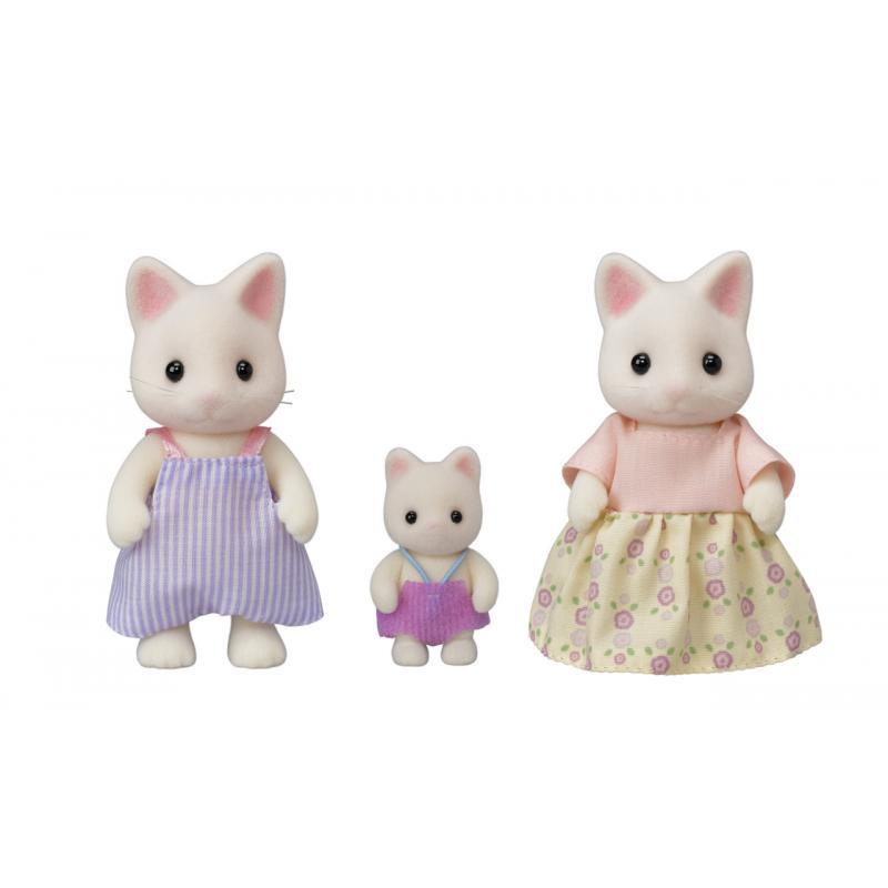 Rodina 3 květinové kočky