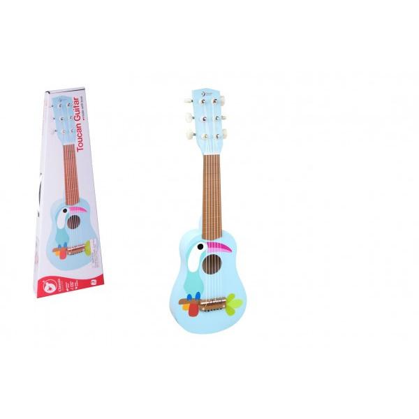 Gitara s trsátka drevo 52cm v krabici 55x19x7cm
