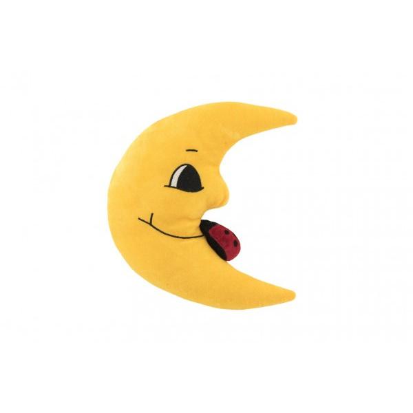 Pluszowy księżyc 27 cm z biedronką