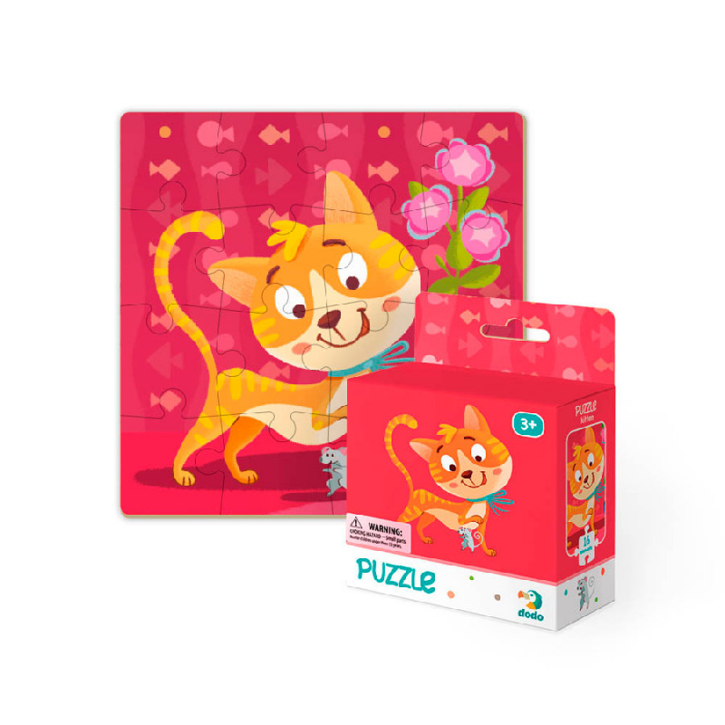 Puzzle Cat 16 sztuk