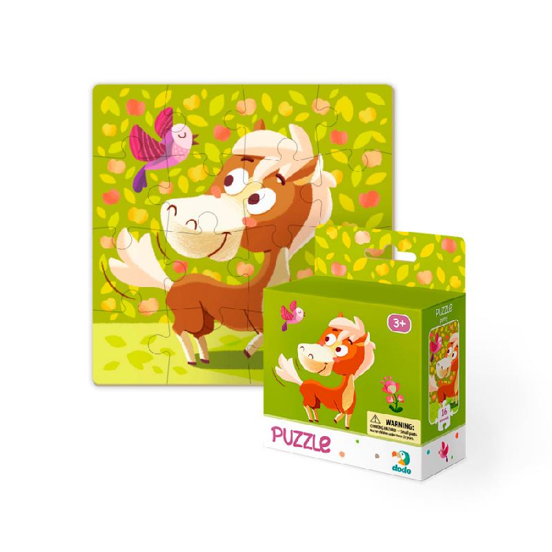 Puzzle konik polny 16 sztuk